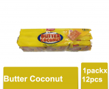 Nissin Butter Coconut 1packx12pcs