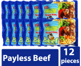 Payless Instant Mami Beef Paborito 12pieces