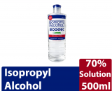 Isopropyl Alcohol Biogenic with Moisturizer 70% Solution (500ml) Weight: 500ml Quantity: Sold Per Piece